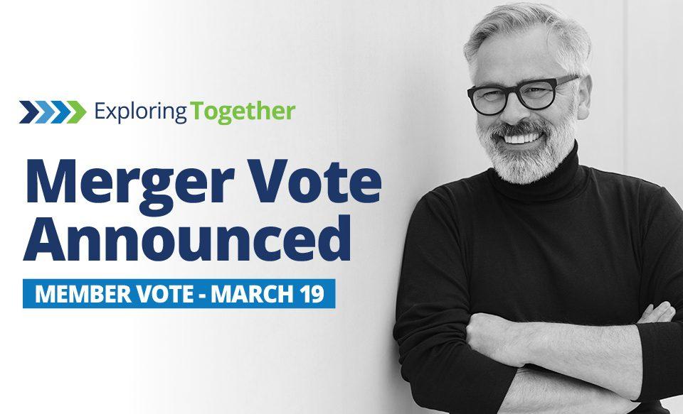 Merger Vote Announced