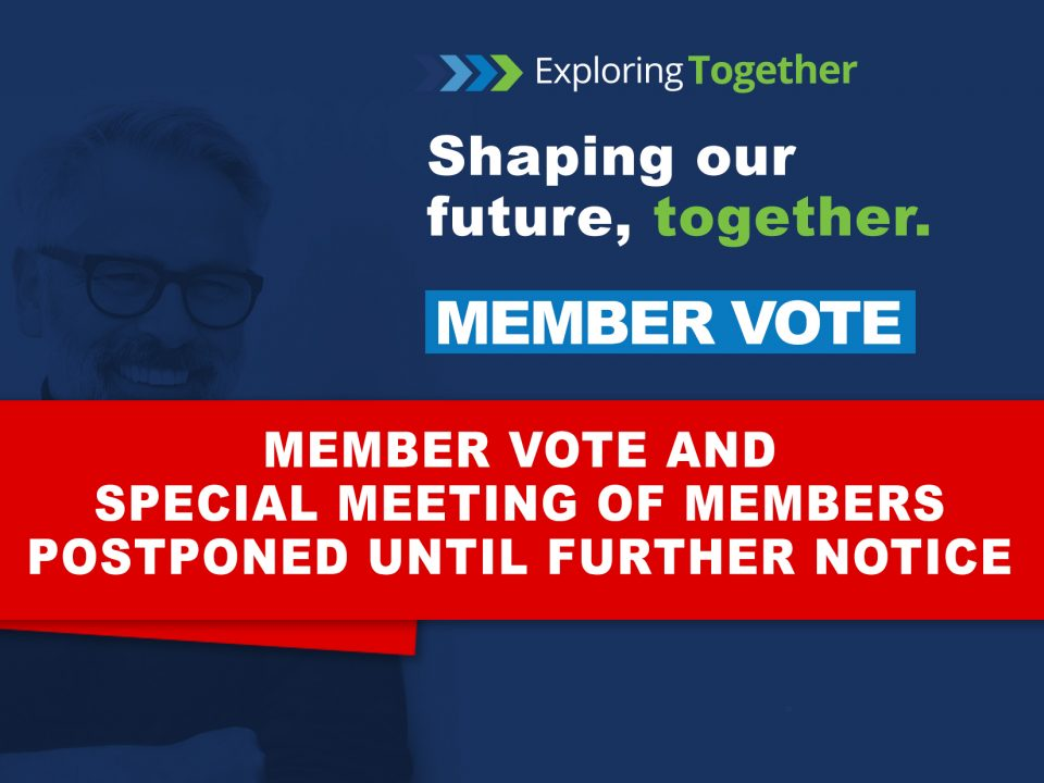 Member vote postponed